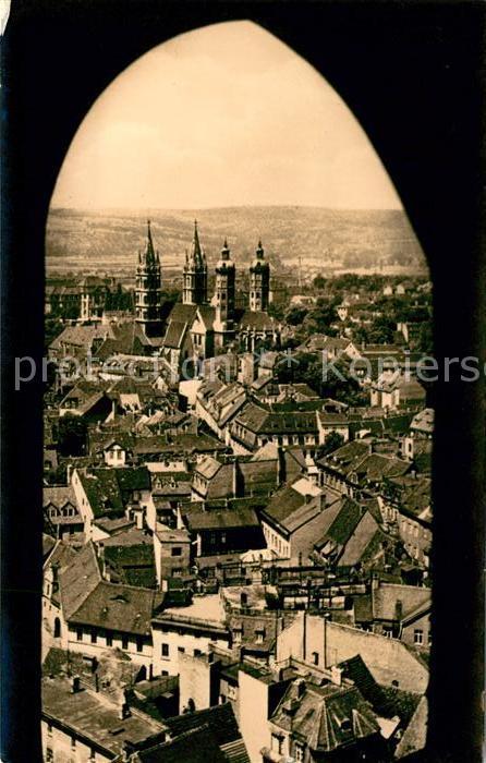 AK / Ansichtskarte Naumburg Saale Blick von der Wenzelskirche auf den Dom Kat. Naumburg