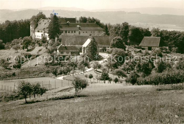 AK / Ansichtskarte Hohenfels Stockach Schule Schloss Salem Zweigschule Schloss Hohenfels Kat. Hohenfels