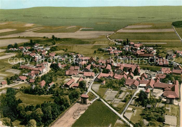 AK / Ansichtskarte Esbeck Elze Fliegeraufnahme Kat. Elze