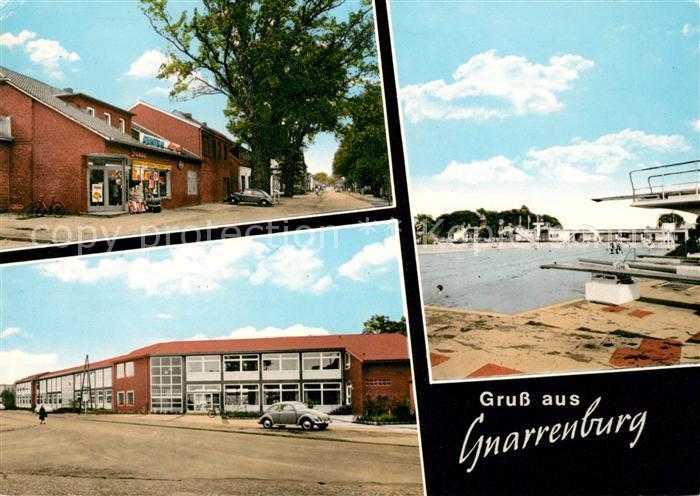 AK / Ansichtskarte Gnarrenburg Stadtansichten Schwimmbad Kat. Gnarrenburg
