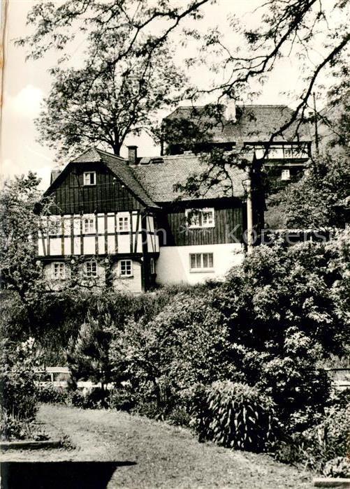AK / Ansichtskarte Mittelherwigsdorf Fachwerkhaus Kat. Mittelherwigsdorf