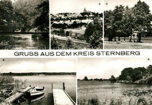 AK / Ansichtskarte Sternberg Mecklenburg Gross Gornow Warnow Panorama Gross Labenz See Lickower See Kat. Sternberg Mecklenburg