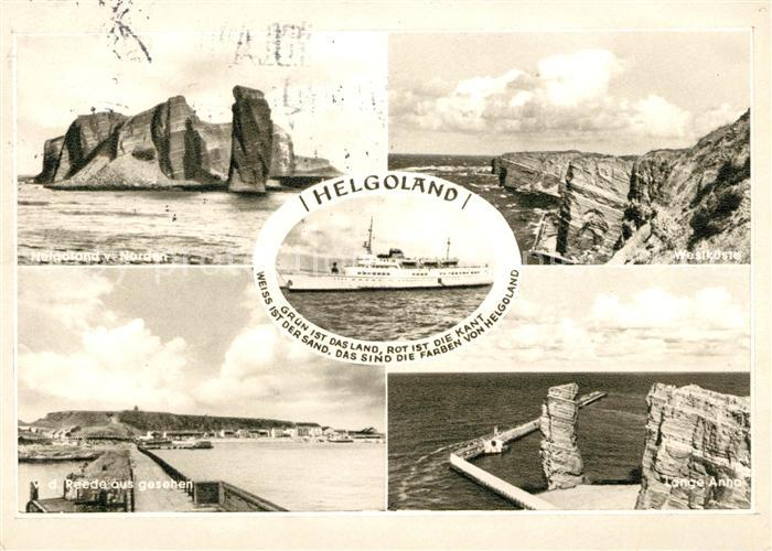 AK / Ansichtskarte Helgoland Panorama Kat. Helgoland