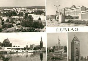 AK / Ansichtskarte Elblag Stadtansichten Kat. Elblag
