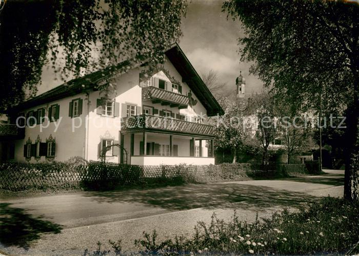 AK / Ansichtskarte Unterschondorf Pension Kat. Schondorf a.Ammersee