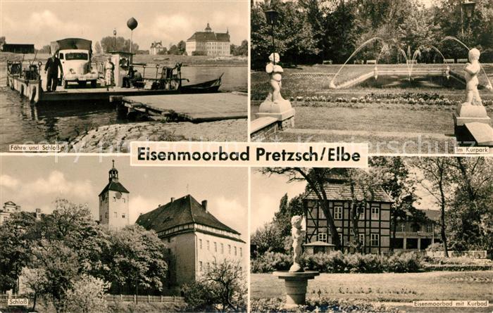 pretzsch elbe eisenmoorbad kurpark bahnhof kinderheim kat pretzsch elbe nr dd24186 oldthing. Black Bedroom Furniture Sets. Home Design Ideas