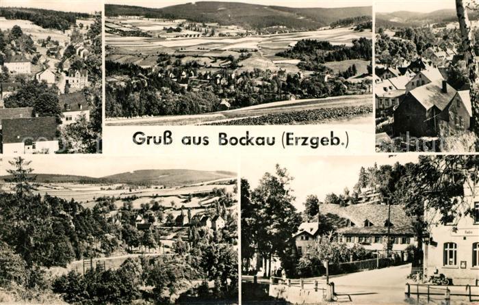 AK / Ansichtskarte Bockau Erzgebirgskreis Panorama Teilansichten Kat. Bockau
