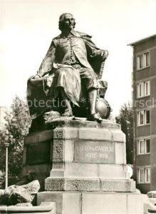 AK / Ansichtskarte Magdeburg Otto von Guericke Denkmal Kat. Magdeburg