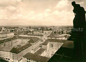 AK / Ansichtskarte Dresden Blick vom Rathausturm Kat. Dresden Elbe