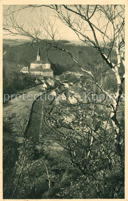 AK / Ansichtskarte Weesenstein Schloss Weesenstein im Mueglitztal