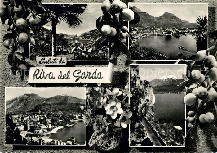 AK / Ansichtskarte Riva del Garda Zitronen Panoramen  Kat.