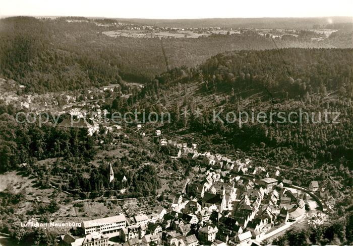 AK / Ansichtskarte Neuenbuerg Enz Panorama Kat. Neuenbuerg