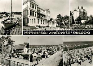 AK / Ansichtskarte Zinnowitz Ostseebad Ferienheim IG Wismut Reisebuero DDR