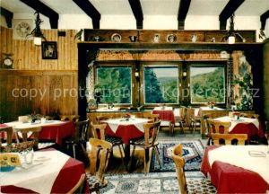 AK / Ansichtskarte Bad Orb Cafe Restaurant Jagdhaus Haselruhe Kat. Bad Orb