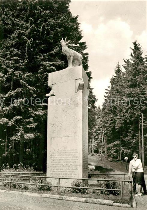 AK / Ansichtskarte Frauenwald Thueringen Monument Kat. Frauenwald