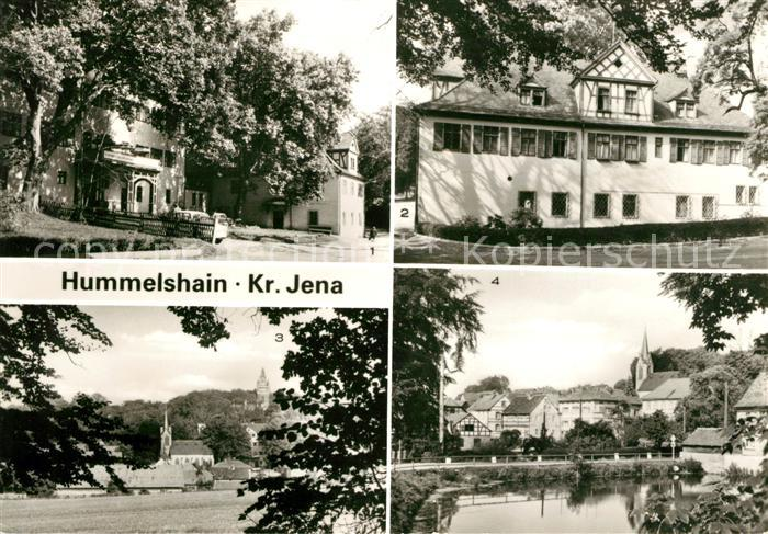 AK / Ansichtskarte Hummelshain Alters Pflegeheim  Kat. Hummelshain