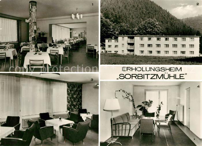 AK / Ansichtskarte Doeschnitz Erholungsheim Sorbitzmuehle VEB Leuna Werke Walter Ulbricht Kat. Doeschnitz