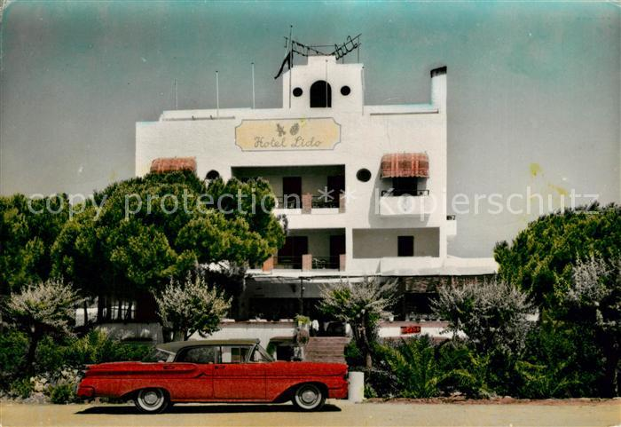 AK / Ansichtskarte Castelldefels Hotel Lido Kat. Costa Brava