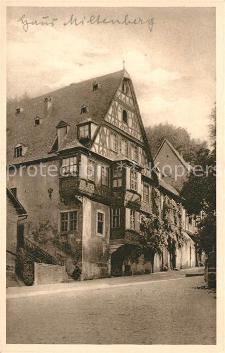 AK / Ansichtskarte Miltenberg Main Haus Miltenberg Kat. Miltenberg