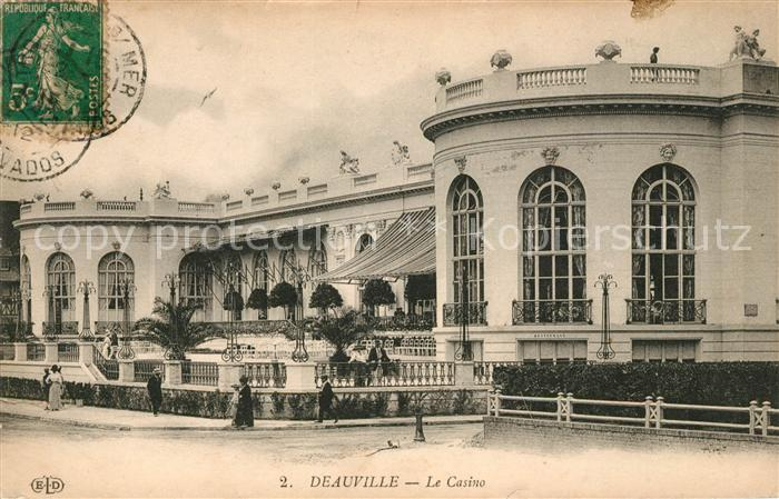 AK / Ansichtskarte Deauville Le Casino Kat. Deauville