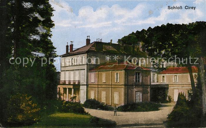 AK / Ansichtskarte Cirey Vesoul Schloss Cirey Kat. Cirey