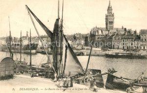 AK / Ansichtskarte Dunkerque Le Bassin du Commerce et le Quai des Hollandais Kat. Dunkerque