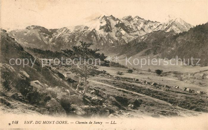 AK / Ansichtskarte Auvergne Region Environ du Mont Dore Chemin de Sancy Kat. Clermont Ferrand