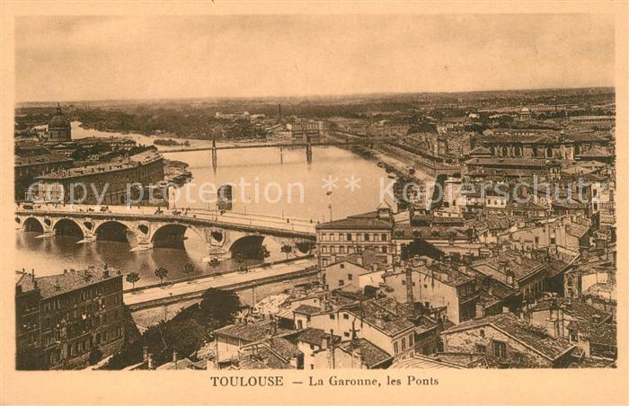 AK / Ansichtskarte Toulouse Haute Garonne Les Ponts Kat. Toulouse
