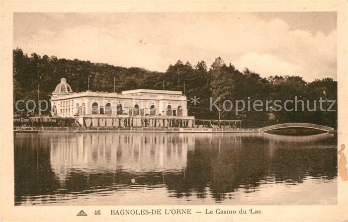 AK / Ansichtskarte Bagnoles de l Orne Le Casino du Lac Kat. Bagnoles de l Orne