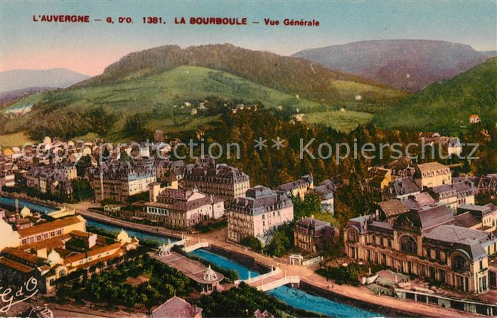AK / Ansichtskarte La Bourboule Vue Generale Kat. La Bourboule