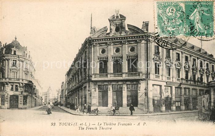AK / Ansichtskarte Tours Indre et Loire Le Theatre Francais  Kat. Tours