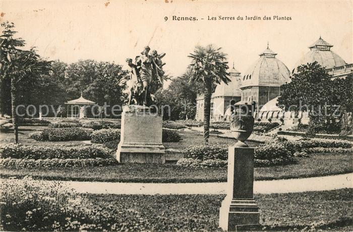 AK / Ansichtskarte Rennes La Voliere du Jardin des Plantes Kat ...