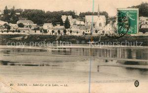 AK / Ansichtskarte Tours Indre et Loire Saint Cyr et la Loire Kat. Tours