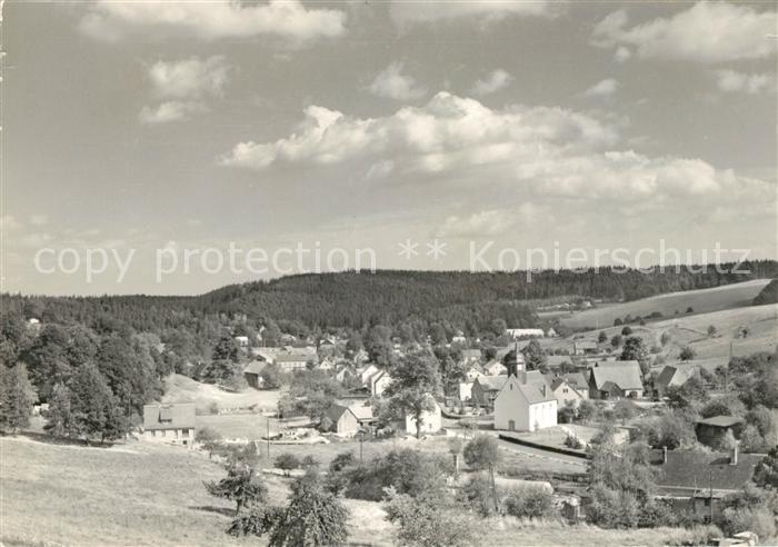 AK / Ansichtskarte Markersbach Bahratal