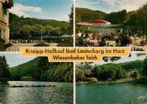 AK / Ansichtskarte Lauterberg Bad Wiesenbeker Teich  Kat. Bad Lauterberg im Harz