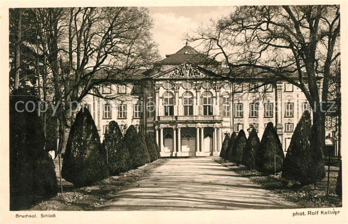 AK / Ansichtskarte Bruchsal Schloss Kat. Bruchsal