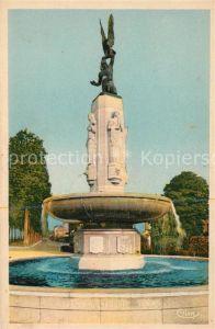 AK / Ansichtskarte Tours Indre et Loire Monument commemoratif des Armees americaines de la Grande Guerre Kat. Tours