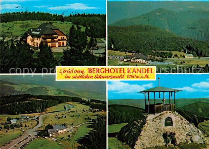 AK / Ansichtskarte Kandel Breisgau Berghotel