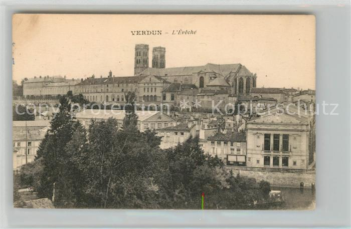 AK / Ansichtskarte Verdun Meuse Eveche Kat. Verdun