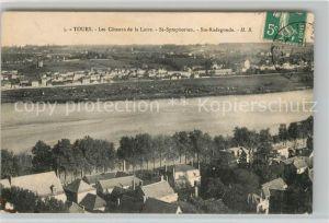 AK / Ansichtskarte Tours Indre et Loire Les Coteaux de la Loire St Symphonien Ste Radegonde Kat. Tours