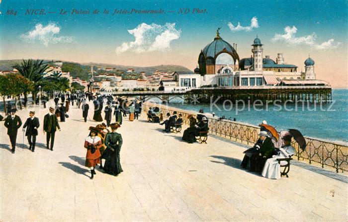 AK / Ansichtskarte Nice Alpes Maritimes Le Palais de la Jetee Promenade Kat. Nice