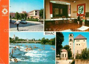 AK / Ansichtskarte Bihac Teilansichten Olympische Spiele Sarajewo 1984