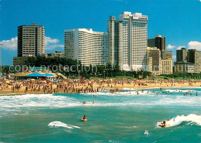 AK / Ansichtskarte Durban South Africa The Holiday City Kat. Durban