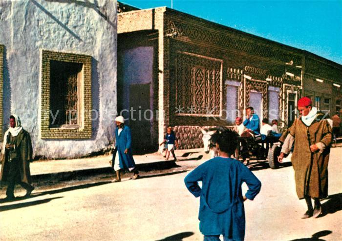 AK / Ansichtskarte Tozeur Maisons typiques a decor de briques Kat ...