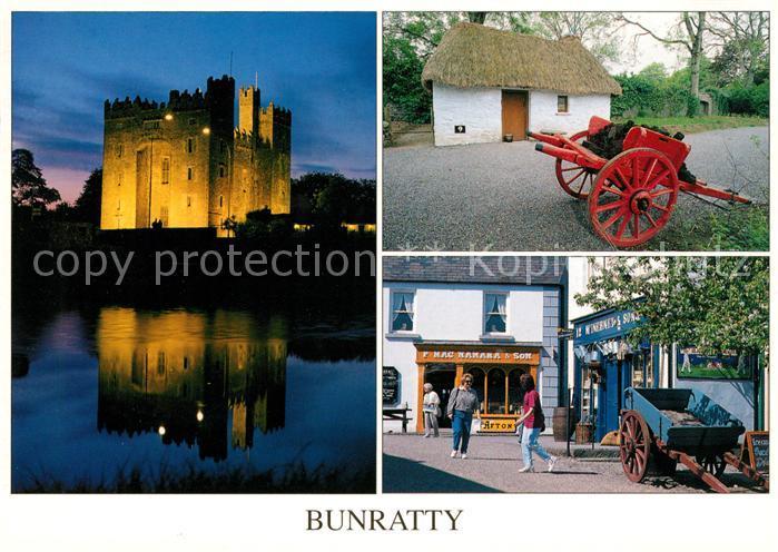 AK / Ansichtskarte Clare Strabane Bunratty Castle and Folk Park Kat. Strabane
