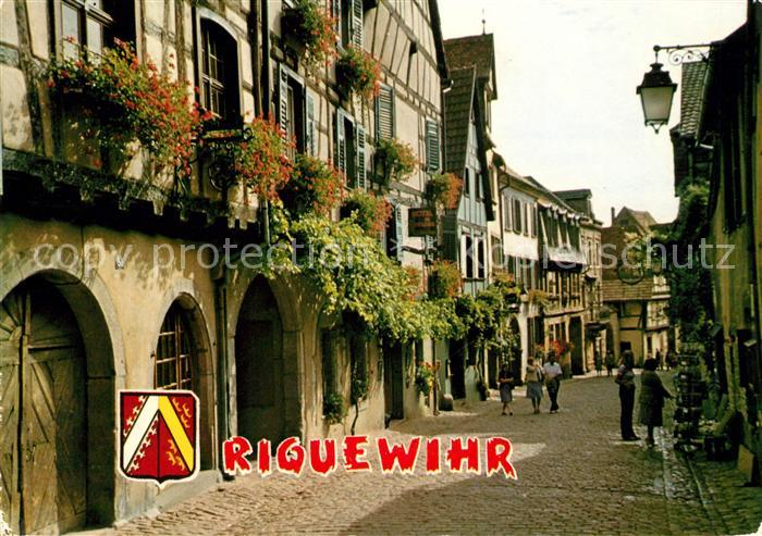 AK / Ansichtskarte Riquewihr Haut Rhin Rue du General du Gaulle Kat. Riquewihr