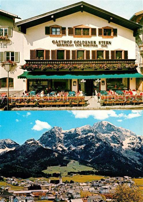 AK / Ansichtskarte Abtenau Gasthaus Goldner Stern Restaurant Kat. Abtenau