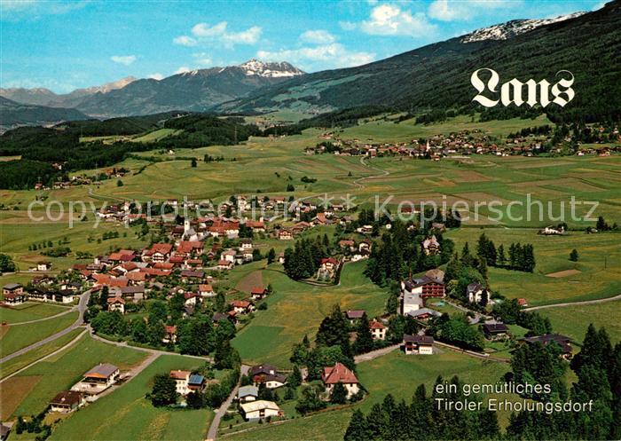 AK / Ansichtskarte Lans Tirol Panorama Fliegeraufnahme Kat. Lans