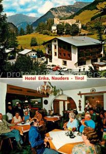 AK / Ansichtskarte Nauders Tirol Hotel Erika Kat. Nauders