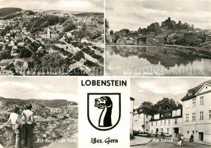 AK / Ansichtskarte Bad Lobenstein Thueringen Schloss Alter Turm  Kat. Bad Lobenstein